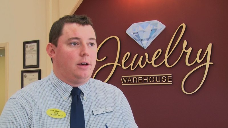 Jewelry Warehouse Manager Leland Morrison said they had high anticipation for Cyber Monday.