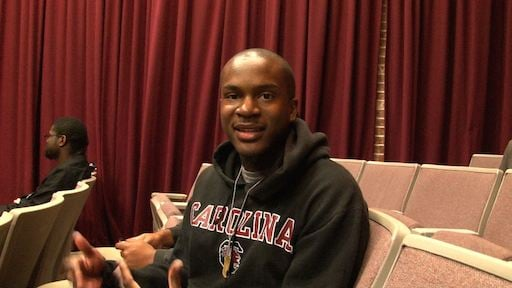 Tim Shaw, USC Student that attended the watch party.