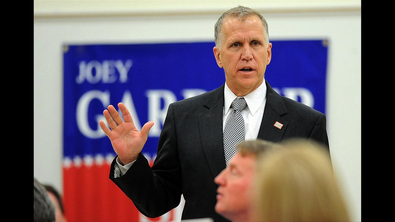 Thom Tillis says hand washing protocol is an example of excessive government regulations.