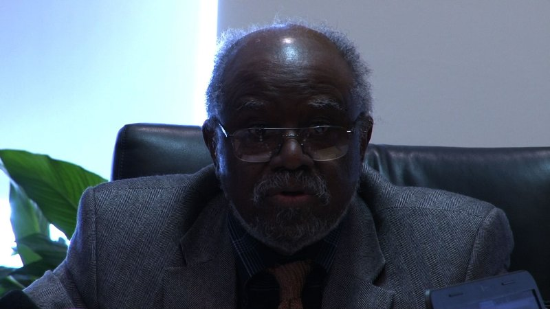 Board of Trustee Chairman William Small Jr. stands behind keeping university open