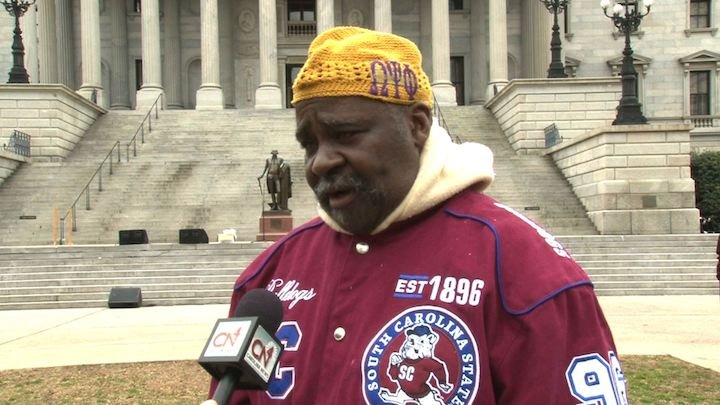 SC State Alumni Jerry Hannah believes if the university was shut down, businesses would clear out of Orangeburg.