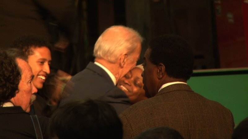 Vice President Biden discusses plans to repair state roads with SC leaders.