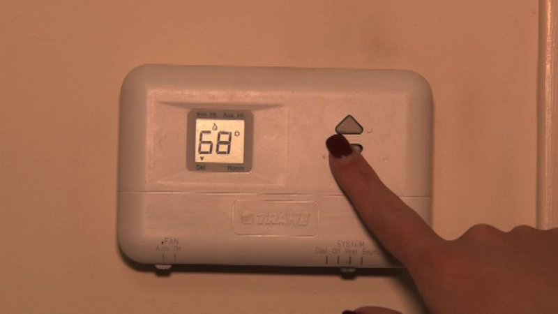 Boomhower says your thermostat should be on 68 or lower during the winter months.