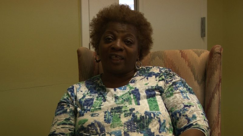 Frederica Prince is thankful for the Family Promise Program and hopes to be independent one day.