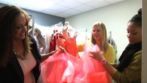 The Cinderella Project helps young girls living on a budget find the perfect princess dress.