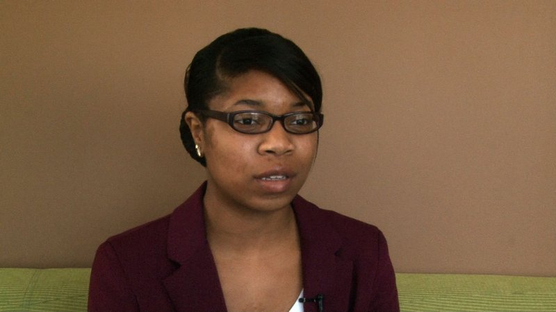 Jerica Knox is the treasuer of the organization and tries to find ways to raise money for the charity.