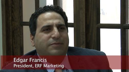 ERF Marketing President Edgar Francis says converting his business to solar was worth the investment.