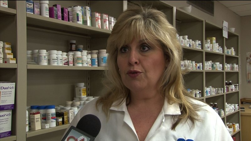 Pharmacist Kathy Moore says if she could prescribe medicine everyone would benefit.
