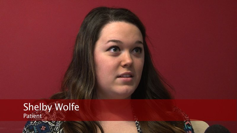 Patient Shelby Wolfe says she wastes time and money on doctor visits.