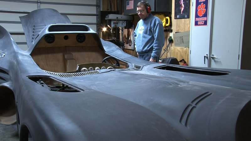 """The newest project is a Batmobile based on the latest movie, """"Dark Knight Rises"""""""