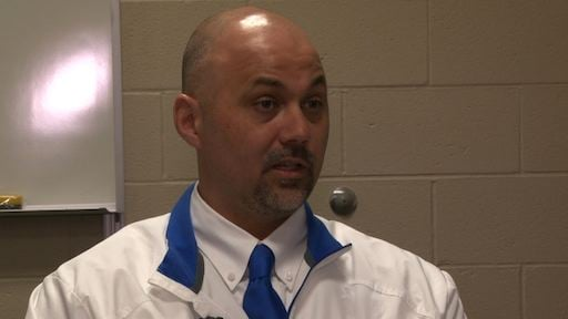Principal Dana Fall says he hopes this system will spread throughout the district.