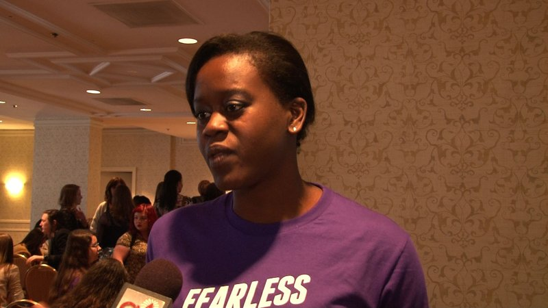 FMF National Campus Organizer Edwith Theogene says student leaders show a bright future.
