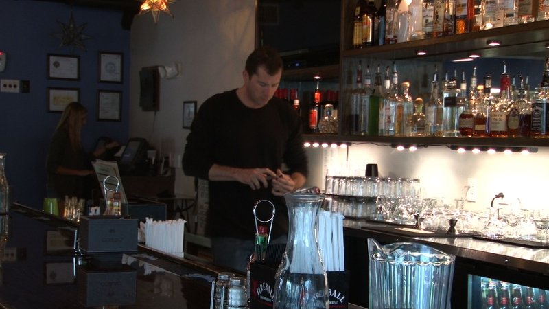 Chad Elsey reads reviews of his restaurant on Yelp, but knows they might not all be true.