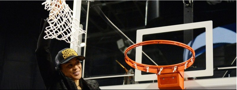 Head coach Dawn Staley thanked all the fans for the suppot and said see you in Tampa!