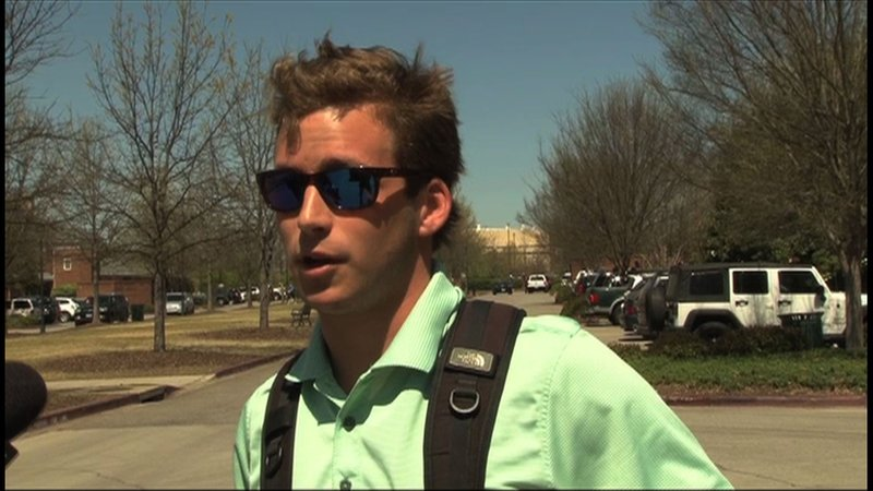 USC student, Brooks Dubose, knew Hipps' from when they attended Palmetto Boys State together in 2011.