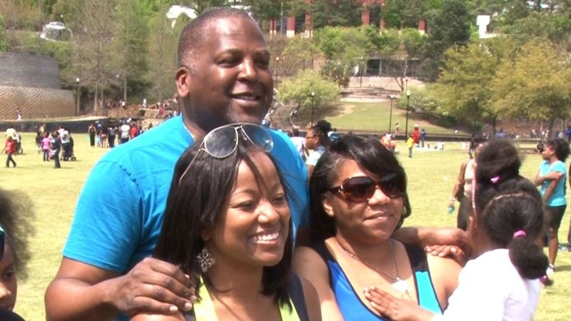 """Columbia Mayor Steve Benjamin says he's excited to see the city of Columbia taking the """"Let's Move!"""" initiative."""