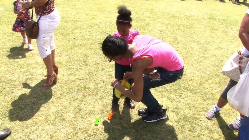 Children from across the midlands came out to Finlay Park on Friday, April 3rd to search high and low to gather the most Easter eggs.
