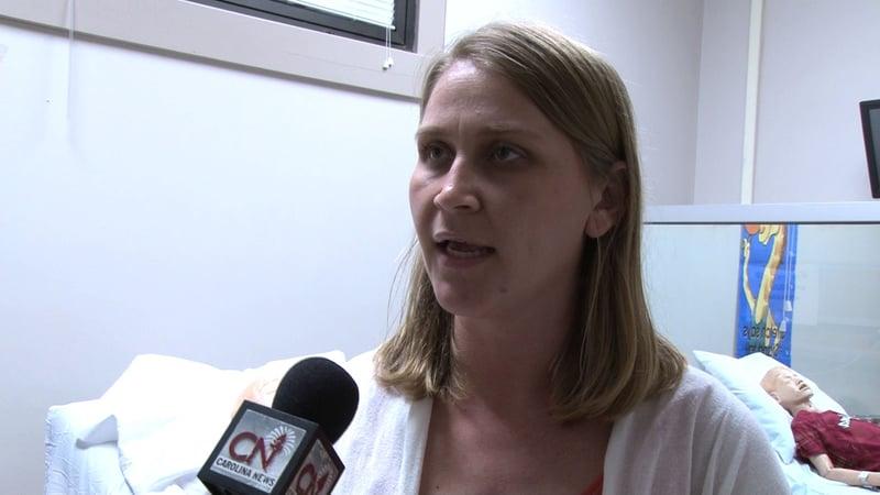 Elaine Cain also teaches nursing classes at USC