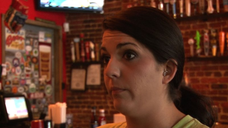 Leslie Nemec said she thinks more businesses should go green if they can
