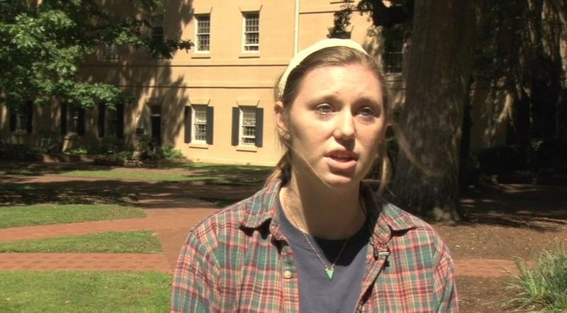 Dreher High School graduate Haley Nelson says she was shocked when she heard the news.