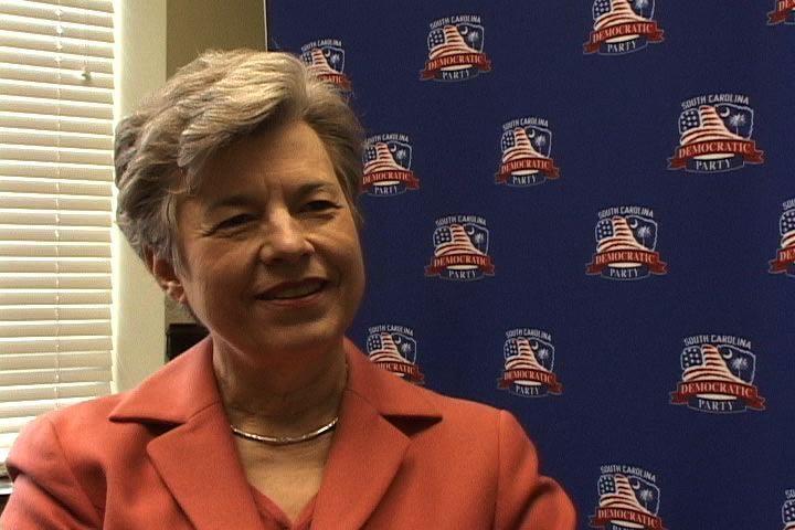 Carol Fowler is one South Carolina's super delegates.