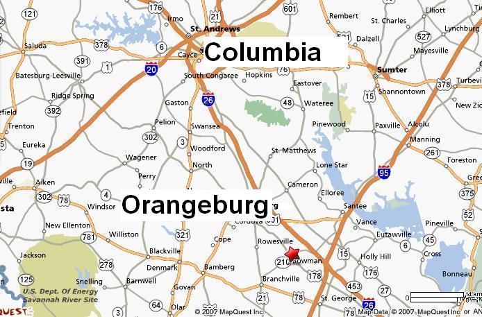 The center will be near I-26 near Bowman