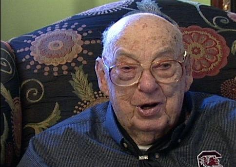 Buck Smith is the oldest Gamecock basketball  player.