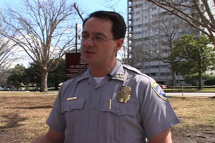 Deputy Director of the USC Police Department Eric Grabskie says the department is prepared for an emergency.