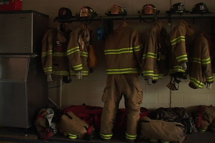 Fire Fighters on divine street are excited about getting new equipment