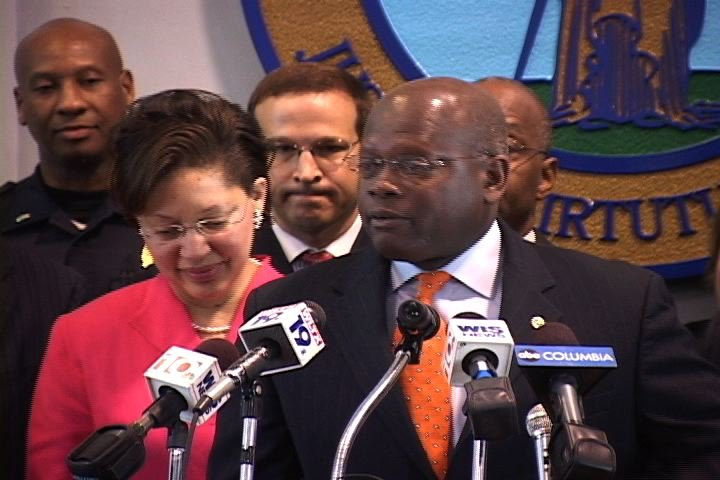 Tandy Carter was named Columbia's new Police Chief at a press conference on Wednesday.