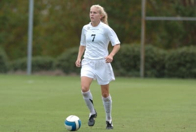 Blakely Mattern will join thirty-three other college soccer players at the U-2o National Camp next week.