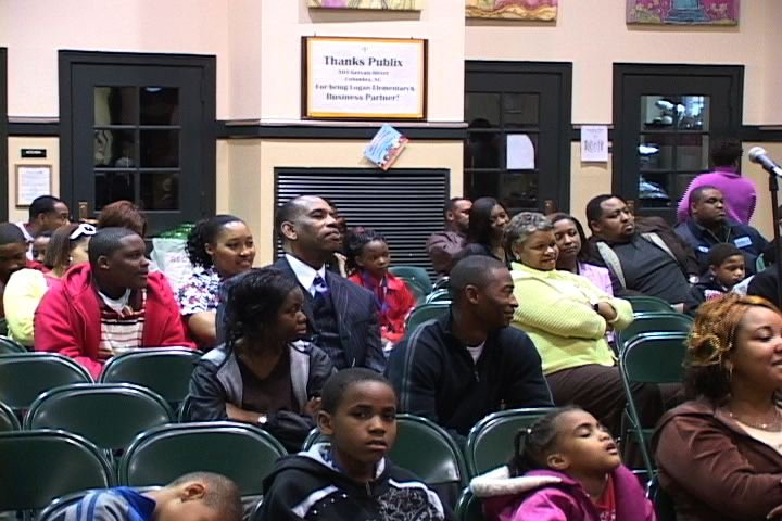 Community members learn how to prevent gang activities.