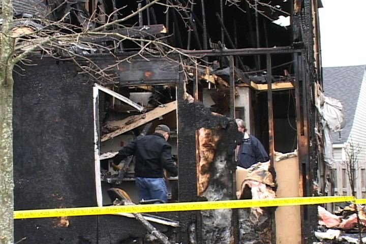 Residents Try To Salvage Whatever They Can After The Fire