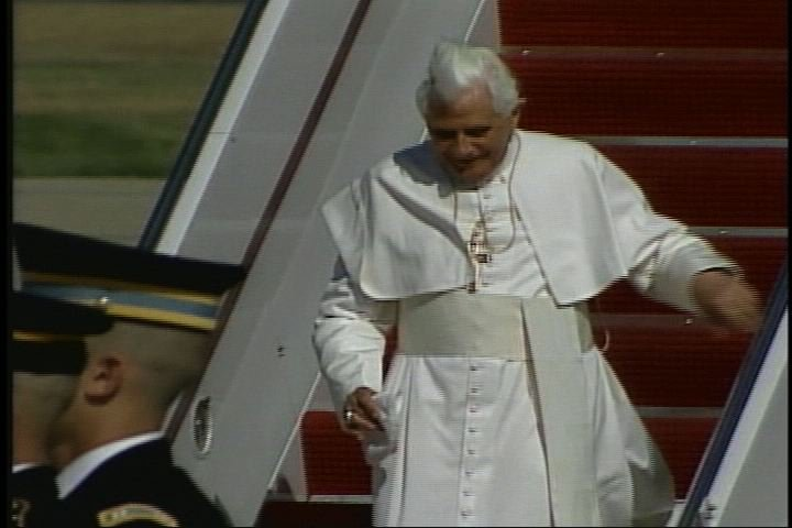 The Pope visits America