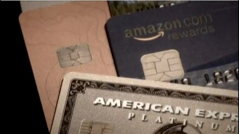 New credit cards have microchips embedded in them to help protect customers from fraud.