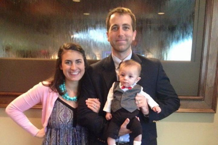 Greg Alia leaves behind his wife and newborn baby.