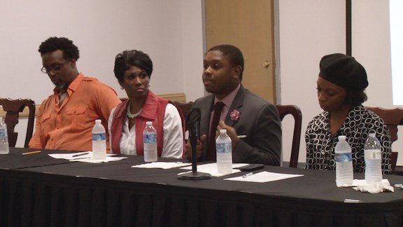Chosen panelists keep the conversation going at the open forum.