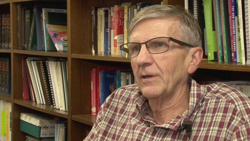 Bob Oldendick is working on the fifth edition of a textbook that discusses public opinion on social issues.