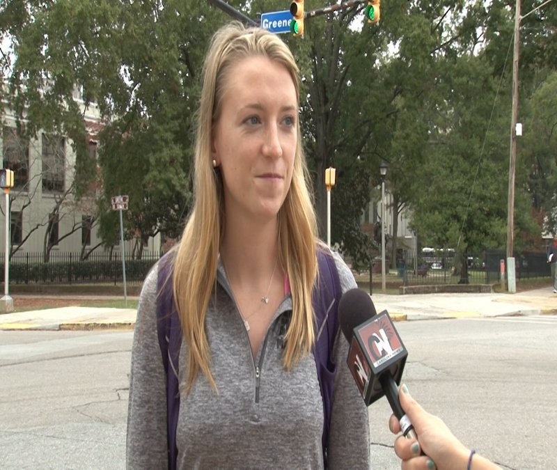 Senior Clare Kelly says she is disappointed in the university for canceling her graduation ceremony.