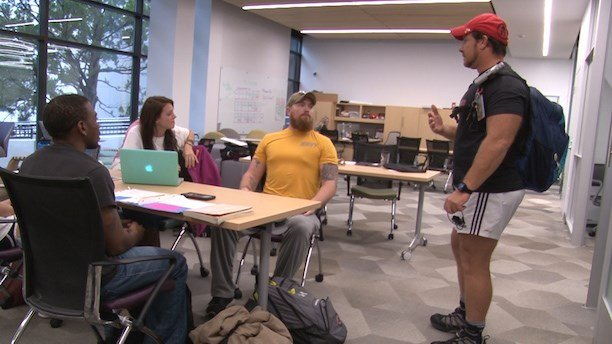 According to Goodreau, the SVA is in regular contact with over 300 student veterans at USC.