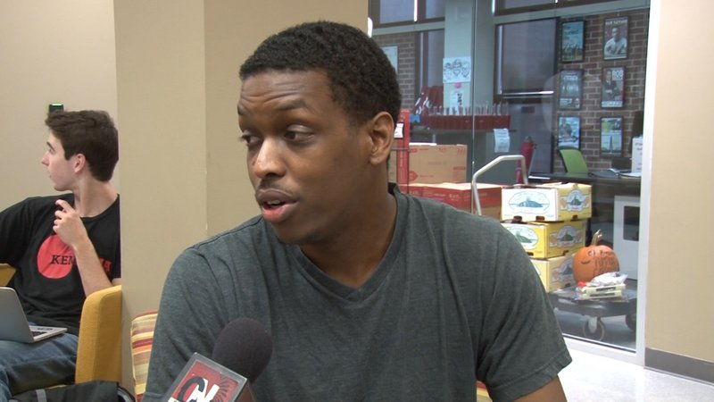 USC student Brenton Dickerson said he has had multiple encounters with law enforcement.