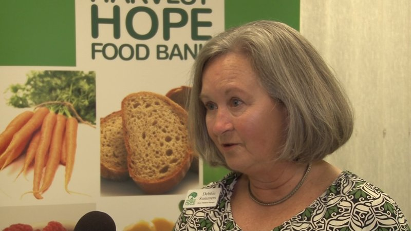 Harvest Hope's Debbie Summers says the drive will help a state in need of recovery.
