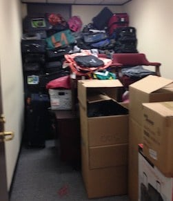 Luggage that was collected at the race went to children that have been placed in foster care in South Carolina.