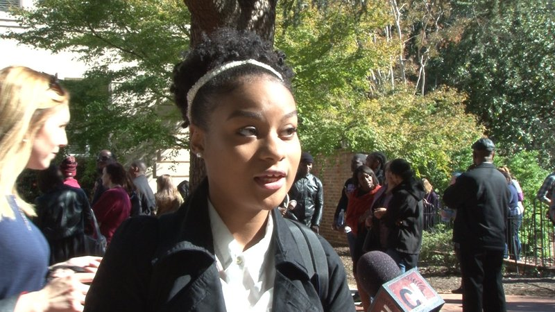 Student Nadia Sims says shes personally faced discrimination on campus