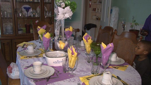 When Gracie Broom sits down with her family this Thanksiving, there's going to be a presence missing.