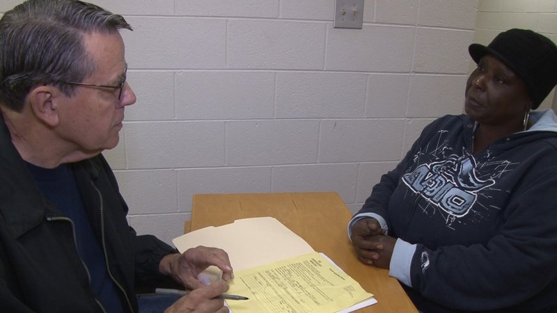 Smith and Mims go over the necesary forms to get help.