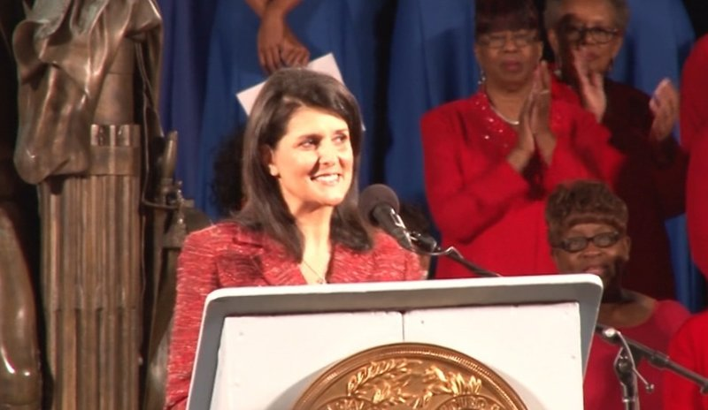 Governor Haley praised South Carolina's perseverance through adversity this year.