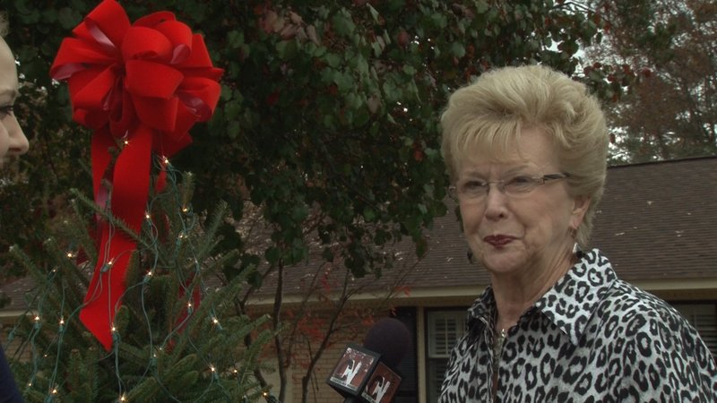 Darlene Cox has participated in the tradition since the beginning, and now she helps organize the event.