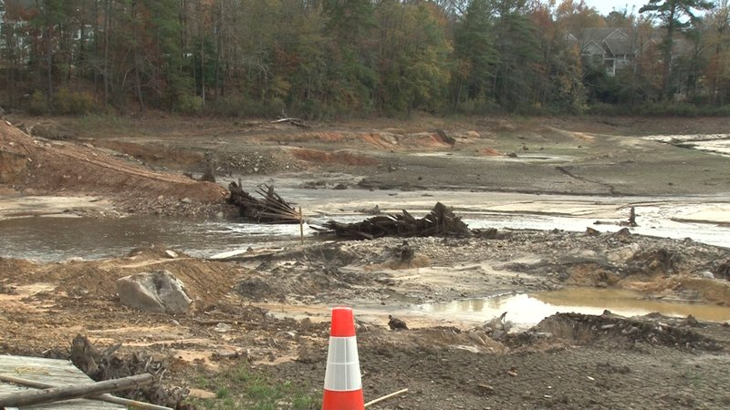 The future is unclear for when the Old Mill Pond Dam will be rebuilt because of the price tag.