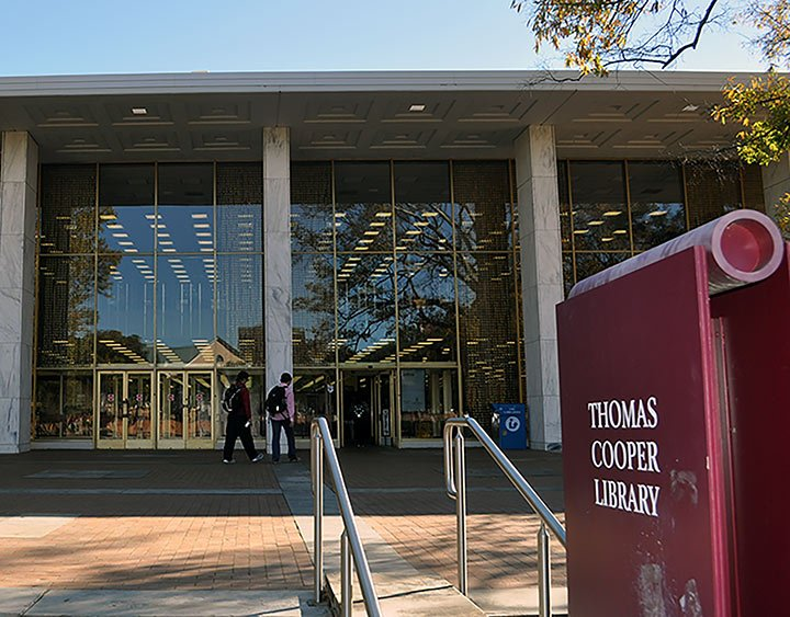 Thomas Cooper Library, named after Thomas Copper